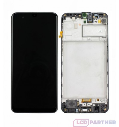 Samsung Galaxy M31 SM-M315F LCD + touch screen + front panel black - original