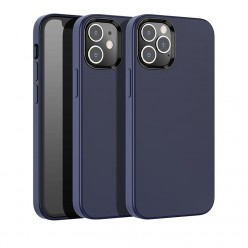 hoco. Apple iPhone 12, 12 Pro Cover pure series blue