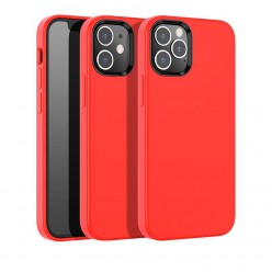 hoco. Apple iPhone 12, 12 Pro Cover pure series red