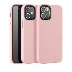 hoco. Apple iPhone 12, 12 Pro Cover pure series pink