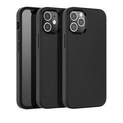 hoco. Apple iPhone 12, 12 Pro Cover pure series black