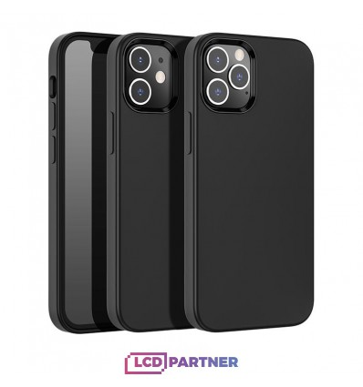 hoco. Apple iPhone 12, 12 Pro Puzdro pure series čierna
