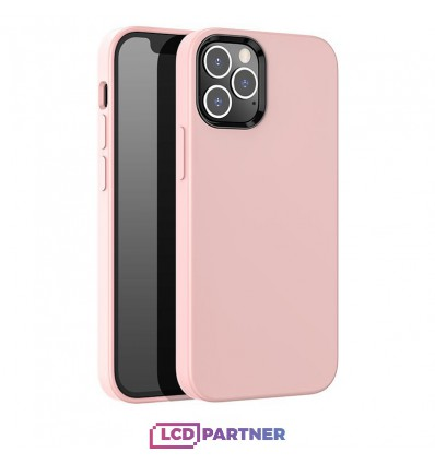 hoco. Apple iPhone 12 Pro Max Cover pure series pink