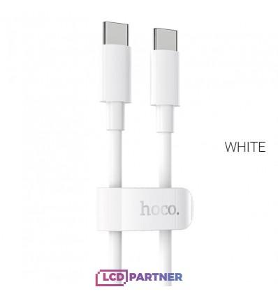 hoco. X51 Nabíjací kábel 100 W typ-c 1 m biela
