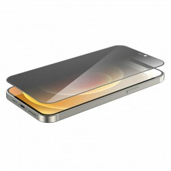 hoco. Apple iPhone 12 mini Anti-spy temperované sklo čierna