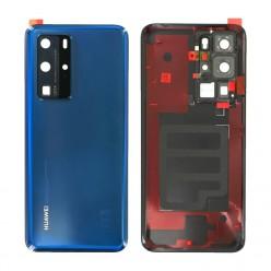 Huawei P40 Pro (ELS-N04, ELS-NX9) Battery cover blue - original