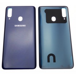 Samsung Galaxy A20s SM-A207F Battery cover blue