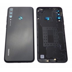 Huawei Y6p (MED-LX9, MED-LX9N) Battery cover black