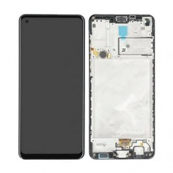 Samsung Galaxy A21s SM-A217F LCD + touch screen + front panel black - original