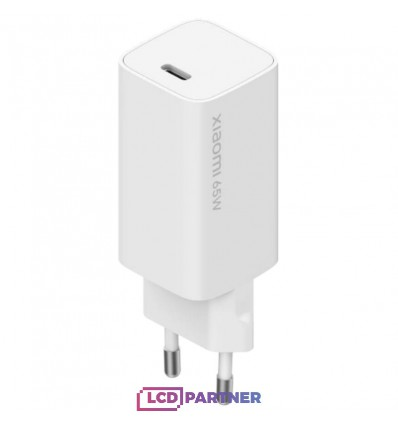 Xiaomi Mi 65W Fast Charger with GaN white