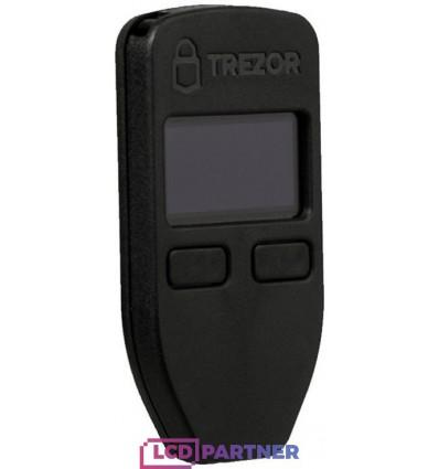 Trezor One Bitcoin Wallet black