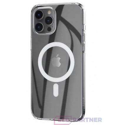 hoco. Apple iPhone 12 Pro Max Transparent magnetic cover clear