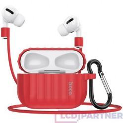 hoco. Airpods Pro WB20 Fenix ochranné puzdro červená
