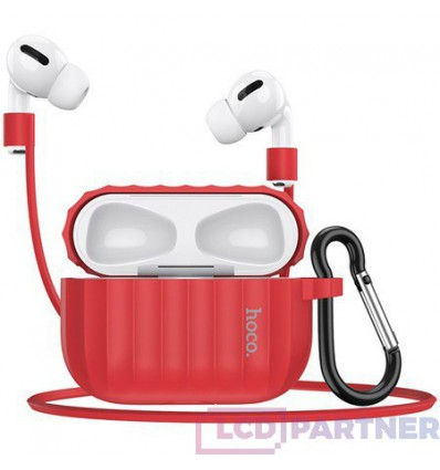 hoco. Airpods Pro WB20 Fenix protective case red