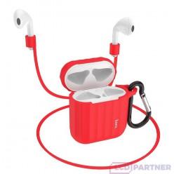 hoco. Airpods 1/2 WB10 silikónové puzdro červená