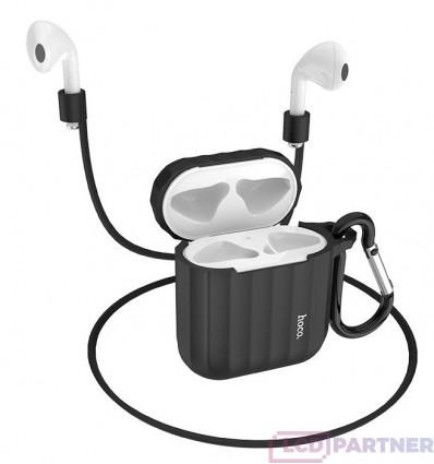 hoco. Airpods 1/2 WB10 silicone case black