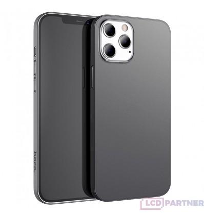 hoco. Aplle iPhone 12 Pro Max Thin series transparent cover black