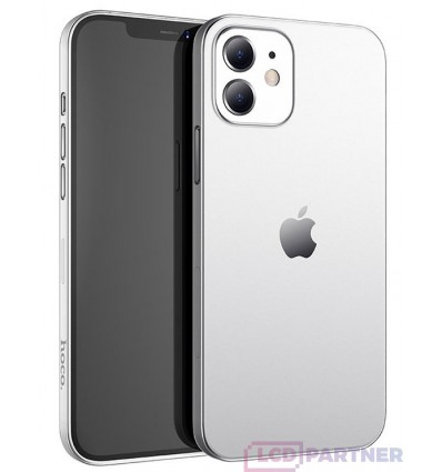 hoco. Aplle iPhone 12 Thin series transparent cover clear