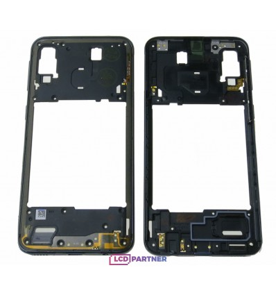 Samsung Galaxy A40 SM-A405FN Middle frame black