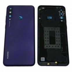Huawei Y6p (MED-LX9, MED-LX9N) Battery cover violet
