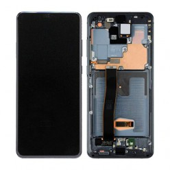 Samsung Galaxy S20 Ultra SM-G988F LCD + touch screen + front panel black - original