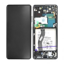 Samsung Galaxy S21 Ultra 5G (SM-G998B) LCD + touch screen + front panel black - original