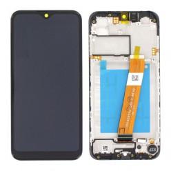 Samsung Galaxy A01 (SM-A015F) LCD displej + dotyková plocha + rám čierna - originál