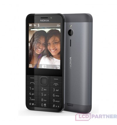 Nokia 230 DS silver - original - returned within 14 days