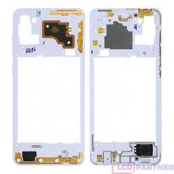 Samsung Galaxy A21s SM-A217F Middle frame white - original