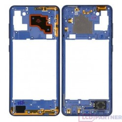 Samsung Galaxy A21s SM-A217F Middle frame blue - original