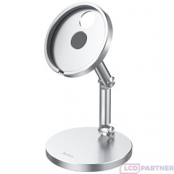 hoco. PH39 wireless magnetic charging stand for iPhone 12 series silver