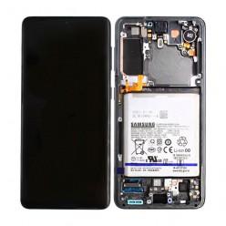 Samsung Galaxy S21 5G (SM-G991B) LCD + touch screen + front panel gray - original