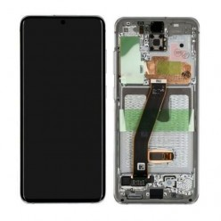 Samsung Galaxy S20 SM-G980F LCD + touch screen + front panel white - original