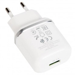 hoco. N3 single USB charger 18W white