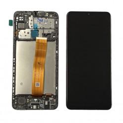 Samsung Galaxy M12 (SM-M127F) LCD + touch screen + front panel black - original