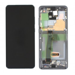 Samsung Galaxy S20 Ultra SM-G988F,S20 Ultra 5G SM-G988B LCD + touch screen + front panel gray - original