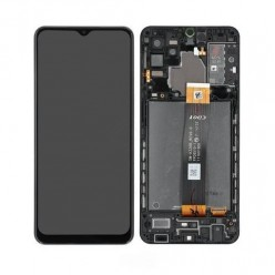 Samsung Galaxy A32 5G (SM-A326B) LCD + touch screen + front panel black - original