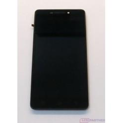 Lenovo Vibe P1m - LCD displej + dotyková plocha + rám černá
