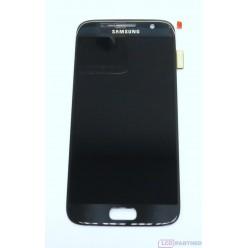 Samsung Galaxy S7 G930F - LCD displej + dotyková plocha černá - originál