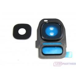 Samsung Galaxy S7 Edge G935F - Krytka zadnej kamery čierna