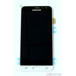 Samsung Galaxy J3 J320F (2016) - LCD displej + dotyková plocha biela - originál