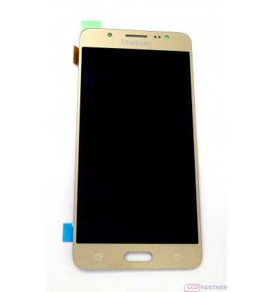 Samsung Galaxy J5 J510FN (2016) LCD displej + dotyková plocha zlatá - originál