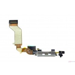 Apple iPhone 4S nabijaci flex biela