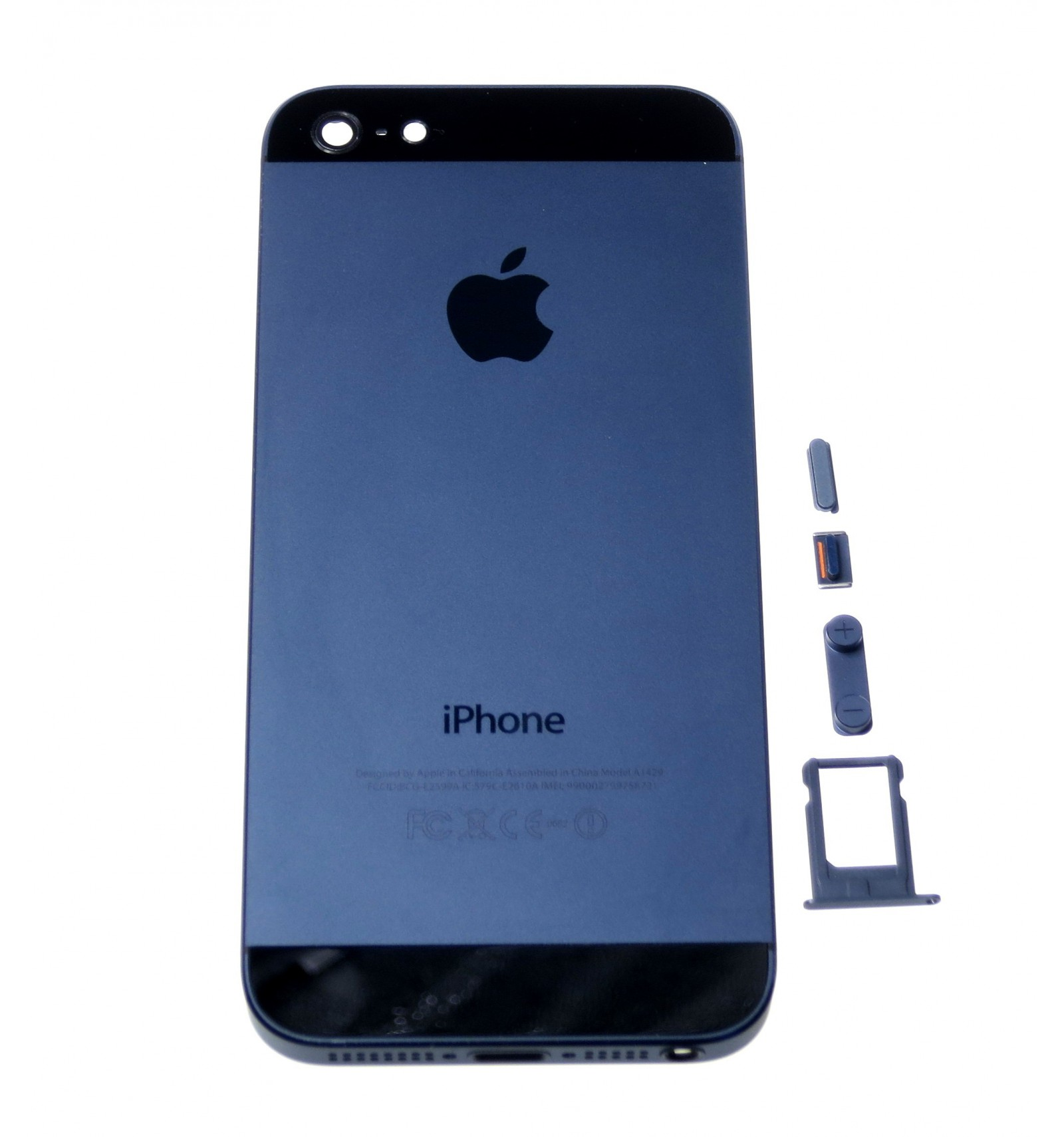 battery cover black oem for apple iphone 5. Black Bedroom Furniture Sets. Home Design Ideas