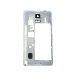 Samsung Galaxy Note 4 N910F - Rám středový bílá