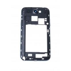 Samsung Galaxy Note 2 N7100 - Rám stredový čierna