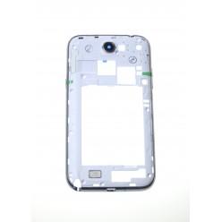 Samsung Galaxy Note 2 N7100 - Rám středový bílá