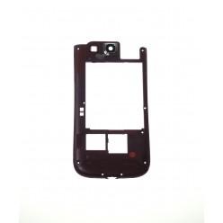 Samsung Galaxy S3 i9300 - Rám stredový červená