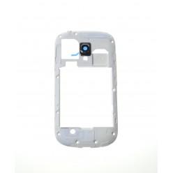 Samsung Galaxy S3 mini i8190 - Rám stredový biela