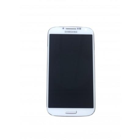 Samsung Galaxy S4 i9505 LCD displej + dotyková plocha + rám biela